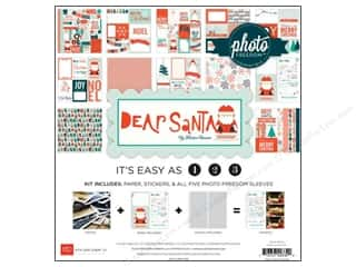 "Clearance Echo Park Collection Kit: Echo Park Collection Kit 12""x 12"" Dear Santa"