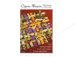 Open Weave Table Runner & Place Mats Pattern