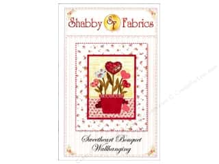 Valentine's Day Flowers: Shabby Fabrics Sweetheart Bouquet Wallhanging Pattern