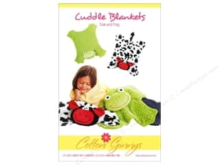 Cuddle Blankets Cow and Frog Pattern