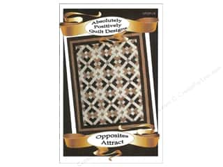 Cozy Quilt Designs $3 - $6: Absolutely Positively Quilt Designs Opposites Attract Pattern