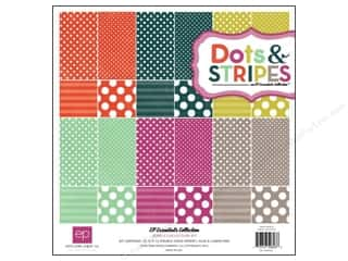 "Echo Park Collection Kit 12""x 12"" Dots & Stripes Jewels"