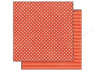Echo Park Paper 12x12 Dots&Stripes Jewels Sm Grnet (25 piece)