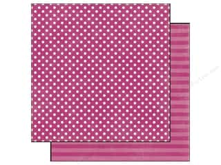 Echo Park Paper 12x12 Dots&amp;Stripes Jewels Sm Ameth (25 piece)
