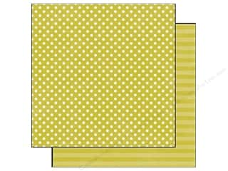 Echo Park 12 x 12 in. Paper Peridot Small Dot (25 piece)