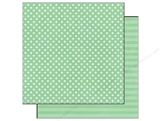 Echo Park Paper 12x12 Dots&amp;Stripes Jewels Sm Jade (25 piece)