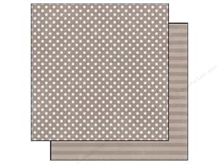 Echo Park Paper 12x12 Dots&Stripes Jewels Sm Qurtz (25 piece)