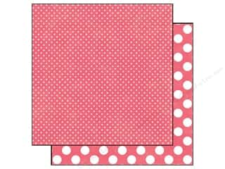 Echo Park Paper 12x12 Dots&amp;Stripes Neap Tiny Chrry (25 piece)