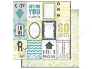 Echo Park Paper Company 12 x 12: Echo Park 12 x 12 in. Paper Happy Little Moments Collection So Sweet (15 pieces)