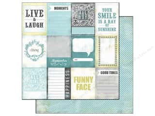 Echo Park Paper Company $10 - $12: Echo Park 12 x 12 in. Paper Happy Little Moments (15 pieces)