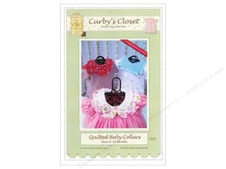 Curby's Closet Wearables Pattens: Curby's Closet Quilted Baby Collars Pattern