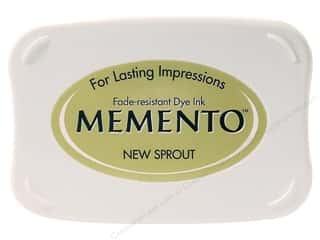 Brayers New: Tsukineko Memento Dye Ink Stamp Pad New Sprout