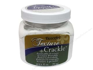 DecoArt Elegant Finish Paint: DecoArt Texture Crackle 10oz