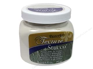 DecoArt Elegant Finish Paint 10oz: DecoArt Texture Stucco 10oz