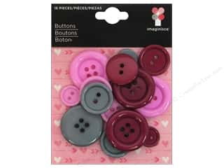 Sewing Construction Valentine's Day Gifts: Imaginisce Embellishments Love You More Push My Button