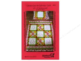 Fruit & Vegetables Yarn & Needlework: Annie's Keepsakes Garden Guys & Gals Kids Quilt Pattern