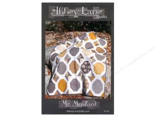 Clearance K&Co Mat Pad 4.75x6.75: Mr. Mustard Pattern