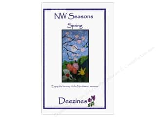 Deezines Quilt Patterns: Deezines NW Seasons Spring Pattern