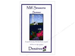 Deezines Quilt Patterns: Deezines NW Seasons Summer Pattern