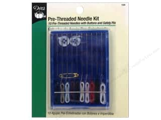 Dritz Sewing Kit: Pre-Threaded Needle Kit by Dritz