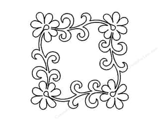 Quilt Stencil  -border: Quilting Creations Stencil Tropical Vine Medalln9""