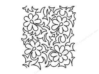 Quilt Stencil  Background: Quilting Creations Stencil Tropical Vine Stipple 8 in.