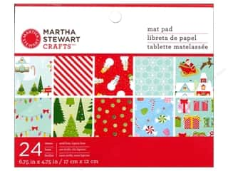 "Winter Wonderland: Martha Stewart Mat Pad 6.5""x 4.5"" Wonderland"