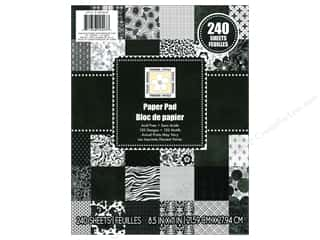 Clearance Die Cuts with a View Stacks: Die Cuts 8 1/2 x 11 in. Cardstock Stack Modern Chic