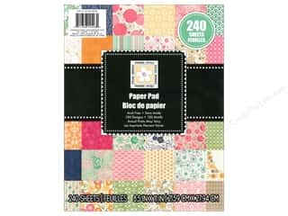 Clearance Die Cuts with a View Stacks: Die Cuts 8 1/2 x 11 in. Cardstock Stack Brilliant Basics