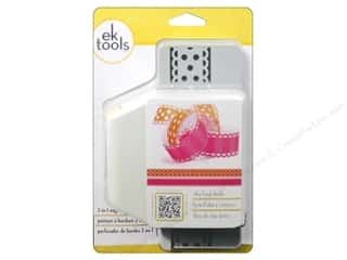 EK Paper Shapers Edger Punch 2 In 1 Dotted Ribbon