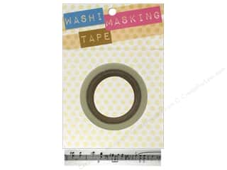 "Glues, Adhesives & Tapes Darice Tapes: Darice Tape Washi Masking 5/8"" Music Notes 8m"