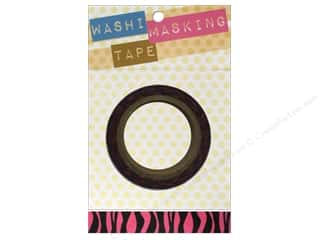 Darice Tape Washi Masking 5/8&quot; Zebra Hot Pink 8m