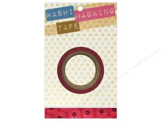 "2013 Crafties - Best Adhesive: Darice Tape Washi Masking 5/8"" Big Flower 8m"