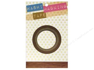 "Darice Tape Washi Masking 5/8"" Wood Grain 8m"