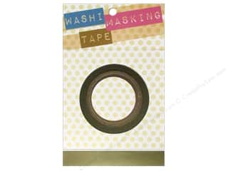"Darice Tape Washi Masking 5/8"" Gold 8m"
