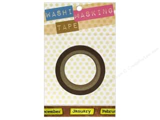 Darice Tape Washi Masking 5/8&quot; Months Distress 8m