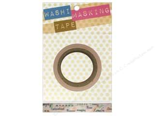 "Darice Tape Washi Masking 5/8"" Travel Stamps 8m"