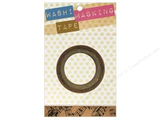 Darice Tape Washi Masking 5/8&quot; Music 8m