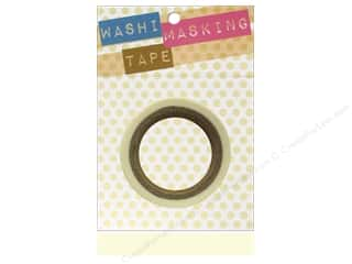 "clearance  > tape measure: Darice Tape Washi Masking 5/8"" White 8m"
