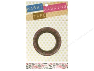 "Darice Tape Washi Masking 5/8"" Leaves and Birds 8m"