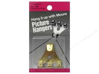 Moore Picture Hangers With Nail 75lb 1pc
