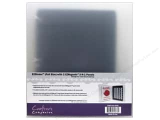 "Crafter's Companion Rubber Stamp: Crafter's Companion EZ Binder 8.5""x11"" With Magnetic Panels"