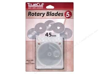 Rotary Cutting $0 - $5: TrueCut Rotary Blades 5 pc. 45 mm