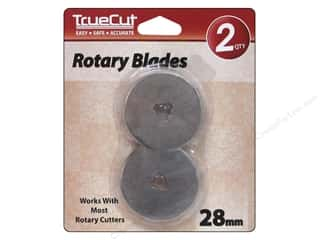 Grace Company, The Scrapbooking & Paper Crafts: TrueCut Rotary Blades 2 pc. 28 mm