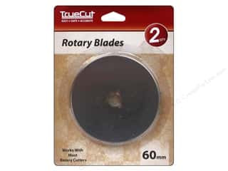 Grace Company, The Sewing Gifts & Gift Notions: TrueCut Rotary Blade 2 pc. 60 mm