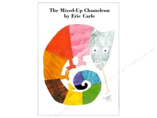 Harper Collins Needlework Books: Harper Collins The Mixed Up Chameleon Board Book