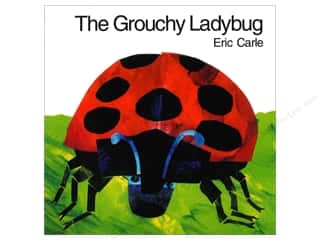 Harper Collins Needlework Books: Harper Collins The Grouchy Ladybug Board Book
