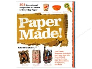Books & Patterns All-American Crafts: Workman Publishing Paper Made! Book