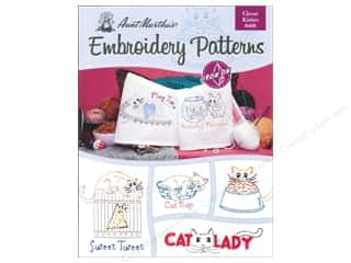 needlework book: Aunt Martha's Transfer Book Clever Kitties