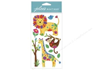 Animals Clearance: Jolee's Boutique Stickers Colorful Jungle Animals